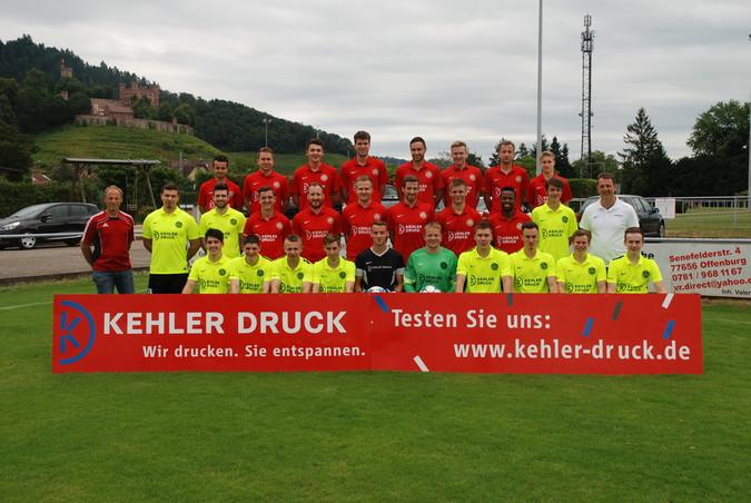 Teamfoto: SV Ortenberg (Herren), 2016/2017