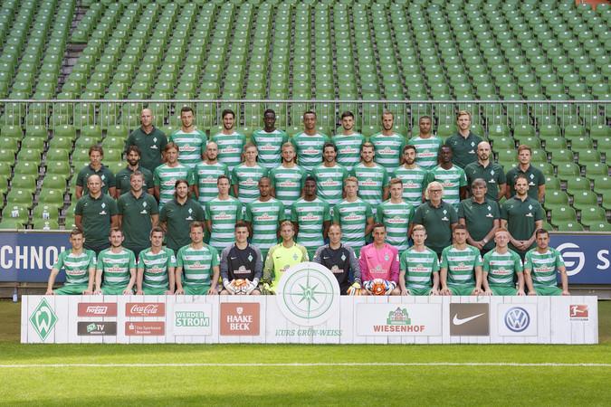 Teamfoto: Werder Bremen 20150918134656 (Herren), 2016/2017