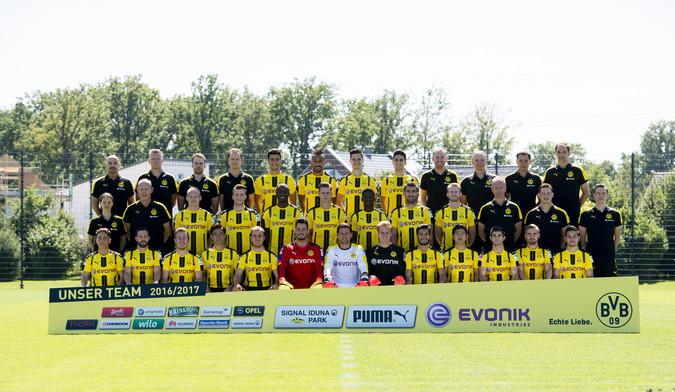Teamfoto: Borussia Dortmund (Herren), 2016/2017