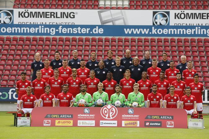 Teamfoto: FSV Mainz 05 (Herren), 2016/2017