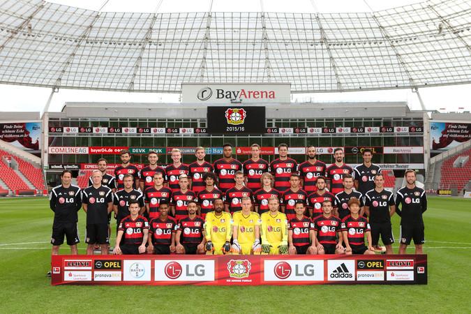 Teamfoto: Bayer 04 Leverkusen (Herren), 2016/2017