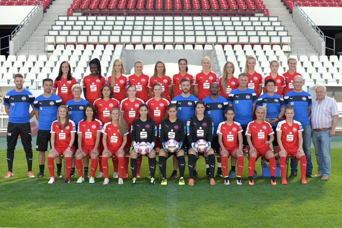 Teamfoto: SGS Essen (Damen), 2016/2017