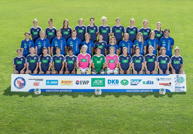 Teamfoto: Turbine Potsdam (Damen), 2016/2017