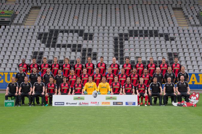 Teamfoto: SC Freiburg (Herren), 2016/2017
