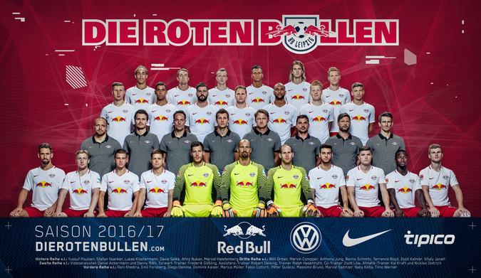 Teamfoto: RB Leipzig (Herren), 2016/2017