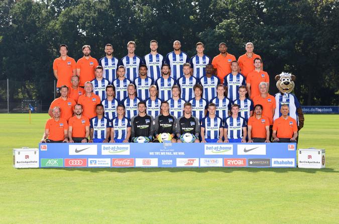 Teamfoto: Hertha BSC (Herren), 2016/2017
