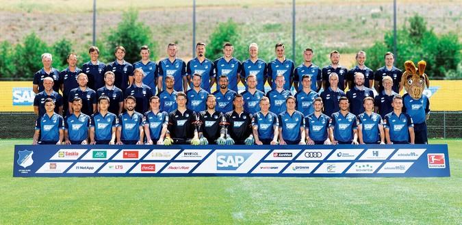 Teamfoto: 1899 Hoffenheim (Herren), 2016/2017