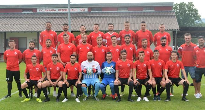 Teamfoto: FC Ankara Gengenbach (Herren), 2017/2018