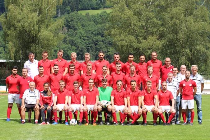 Teamfoto: SV Hausach 2 (Herren), 2017/2018