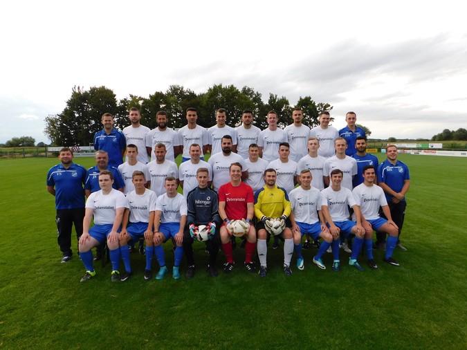 Teamfoto: SC Sand (Herren), 2017/2018