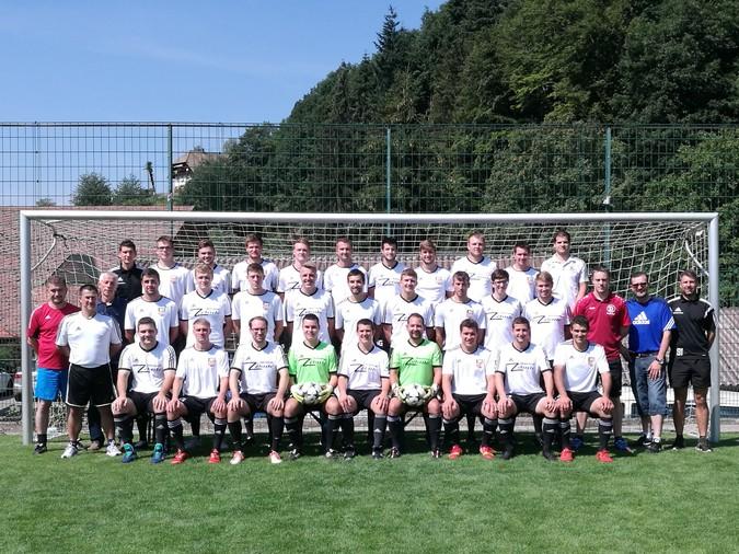 Teamfoto: SG Dörlinbach-Schweighausen