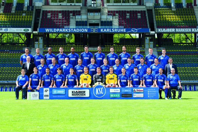 Teamfoto: Karlsruher SC