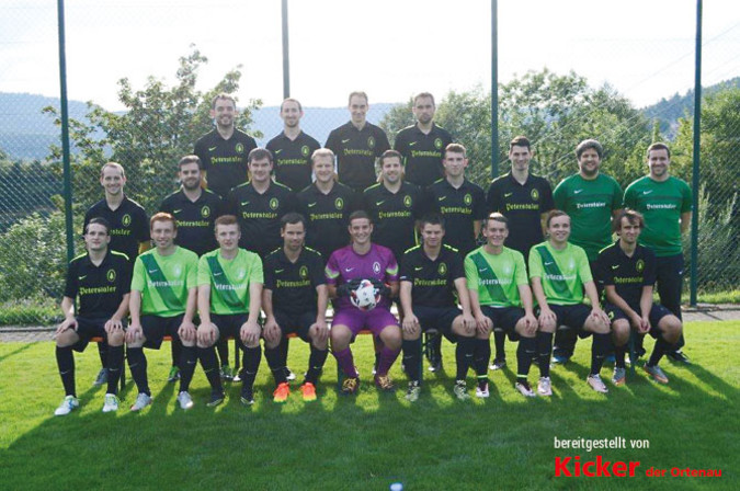 Teamfoto: SV Bad Peterstal