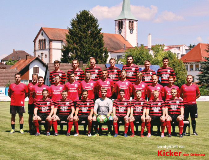 Teamfoto: SV Ulm
