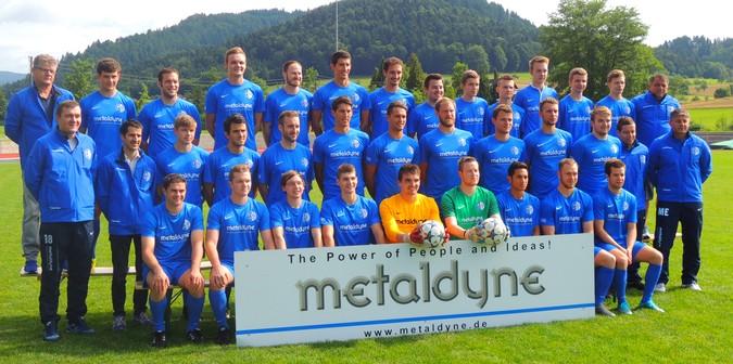 Teamfoto: FV Unterharmersbach