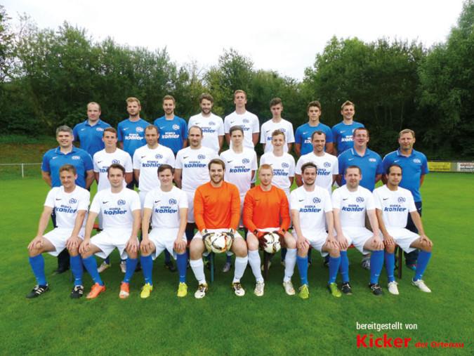 Teamfoto: SV Oberweier
