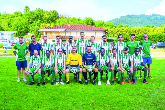 Teamfoto: SV Heiligenzell