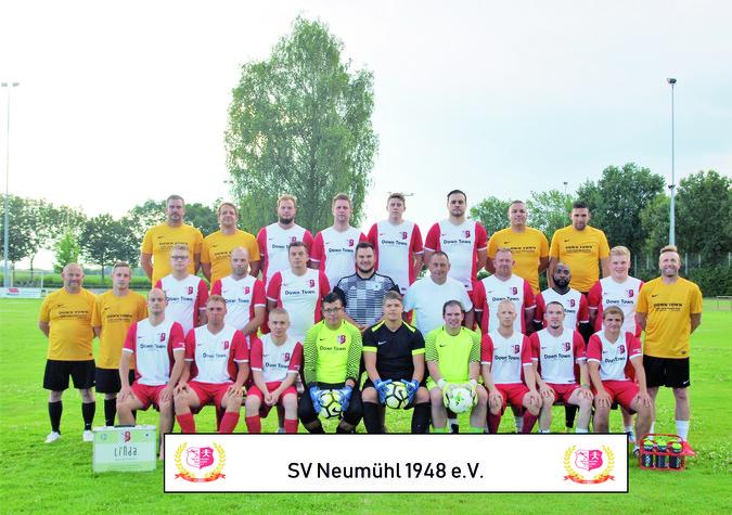 Teamfoto: SV Neumühl