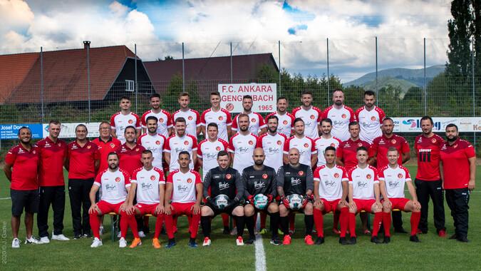 Teamfoto: FC Ankara Gengenbach