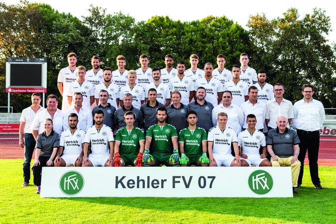 Teamfoto: Kehler FV