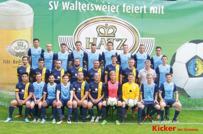 Teamfoto: SV Waltersweier