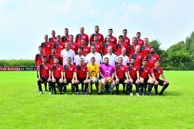Teamfoto: TuS Bohlsbach
