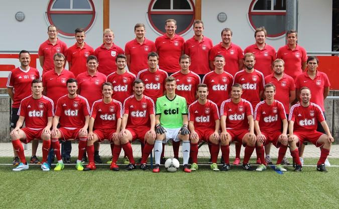 Teamfoto: TuS Oppenau 2