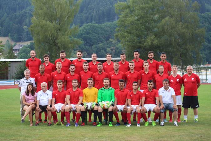 Teamfoto: SV Hausach 2