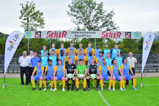 Teamfoto: SV Berghaupten