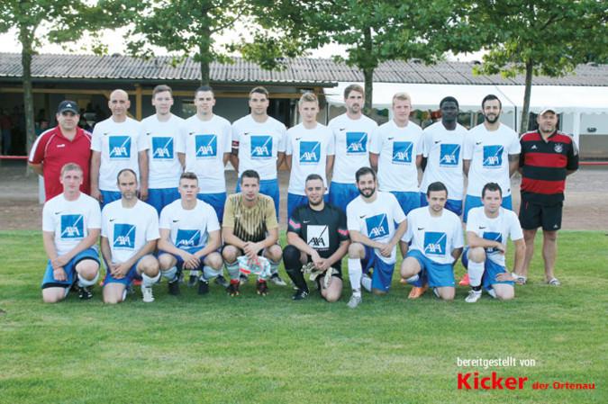 Teamfoto: SG Kürzell/Meißenheim