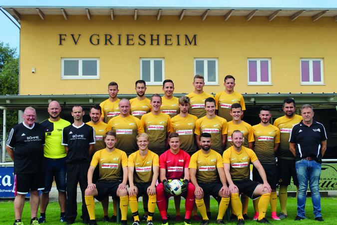 Teamfoto: FV Griesheim