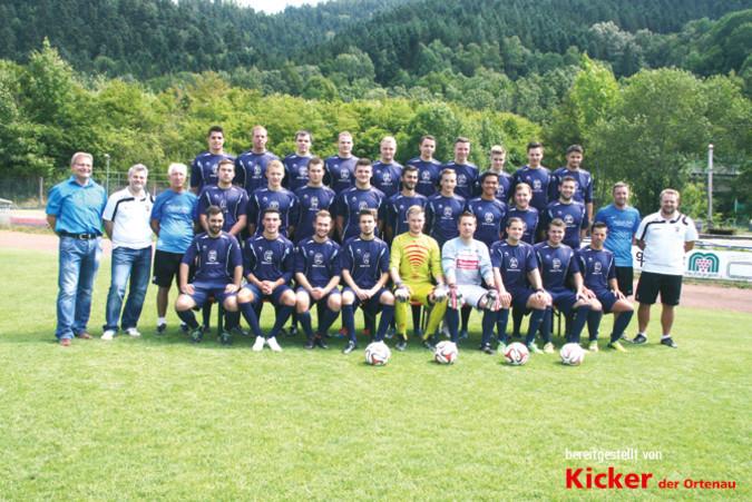 Teamfoto: FC Wolfach