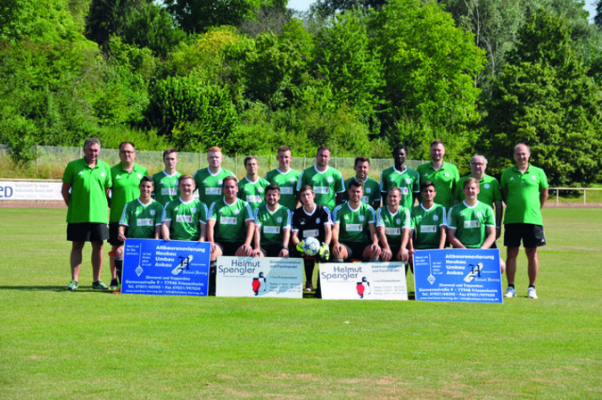 Teamfoto: SC Friesenheim