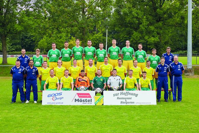 Teamfoto: FV Bodersweier