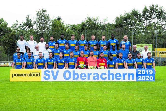Teamfoto: SV Oberachern 2