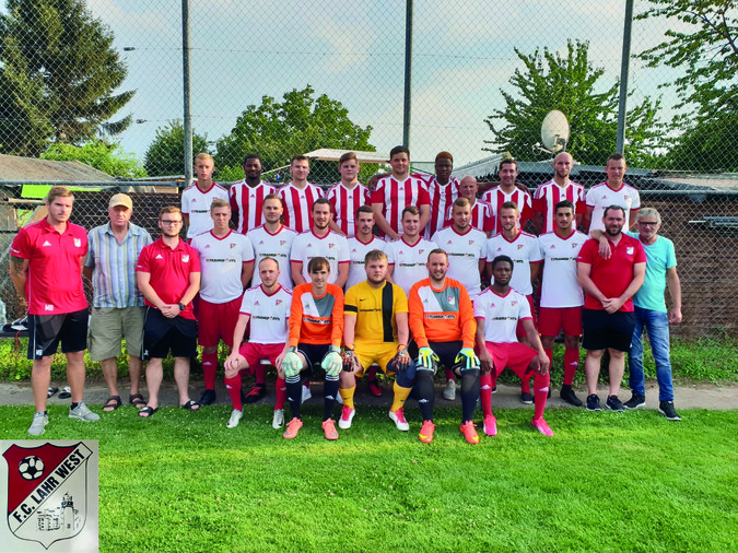 Teamfoto: FC Lahr-West