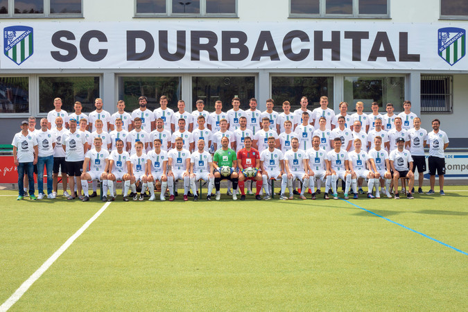 Teamfoto: SC Durbachtal 2