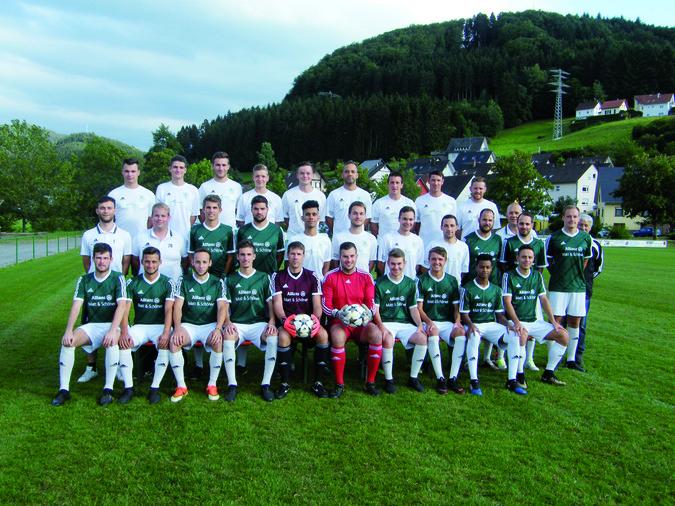 Teamfoto: SV Mühlenbach