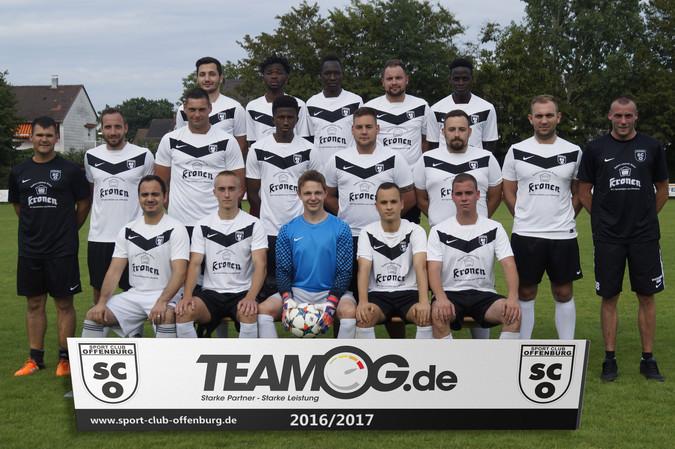 Teamfoto: SC Offenburg 2