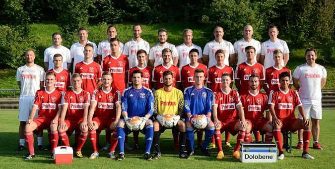 Teamfoto: FV Zell-Weierbach 2